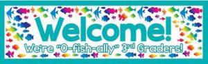 welcome banner third grade (2)
