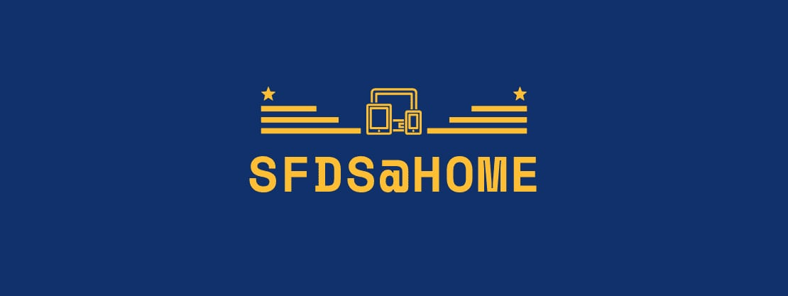 SFDS@Home logo for homepage slideshow