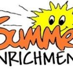 summer enrichment clip art with image of sun